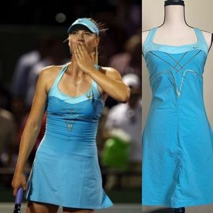Nike Maria Sharapova Blue Dress Size M